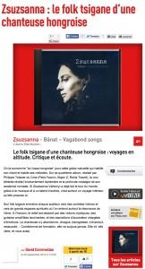 Zsuzsanna   le folk tsigane d'une chanteuse hongroise   Les Inrocks